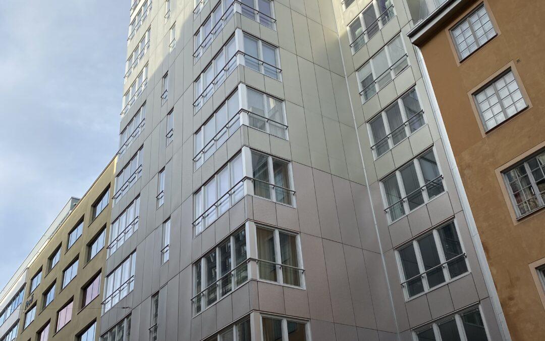 Kv Bocken – nybyggnad 44 bostadsrättslägenheter och en lokal och källare.