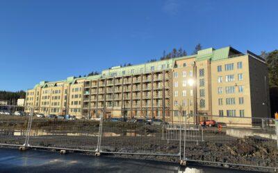 Kv 11 Vega – Nybyggnad av flerbostadshus 103 lägenheter