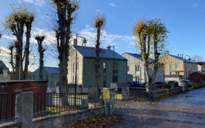 Lyngsåsa – nybyggnad 13 hus med totalt 51 lägenheter.