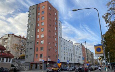 Jägaren i Sundbyberg – nybyggnad 47 bostadsrättslägenheter och lokaler och garage.