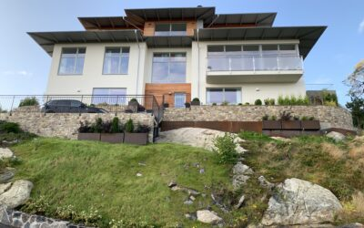 Jura 19 – Nybyggnad av villa i lättbetong BTA 431m2.