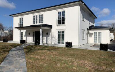 Skidbladner 3 – Nybyggnad av villa i lättbetong BTA 709m2.